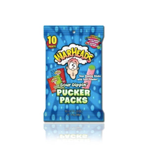Warheads Sour Dippin Pucker Packs 85g