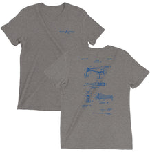 Load image into Gallery viewer, FISHING LURE PATENT TRIBLEND TEE