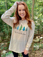 Load image into Gallery viewer, TAKE ME TO THE TREES COMFORT COLORS UNISEX TEE