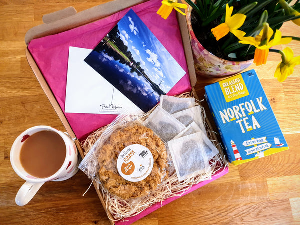 Letterbox Cookie & Tea Gift Box - Mother's Day