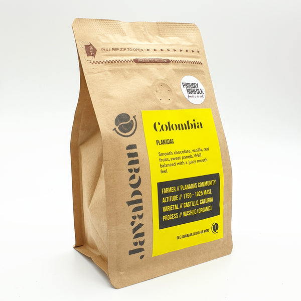 Javabean Colombia Planadas Coffee