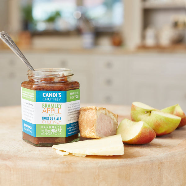 Bramley Apple & Norfolk Ale Chutney - Crush Foods