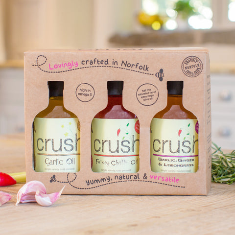 Crush Gift Box [3 x 200 ml OILS]
