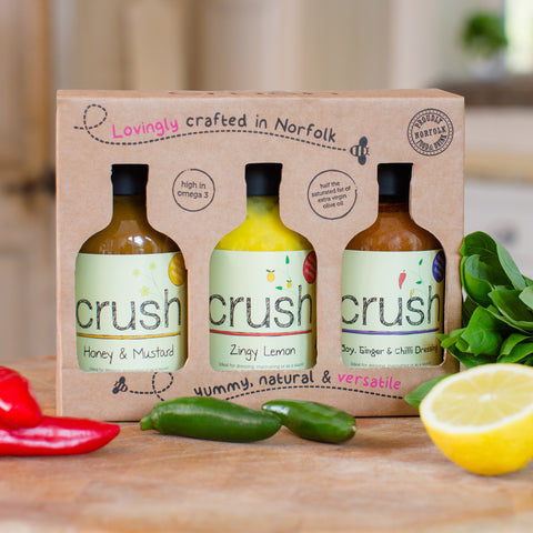 Crush Gift Box [3 x 200 ml DRESSINGS]