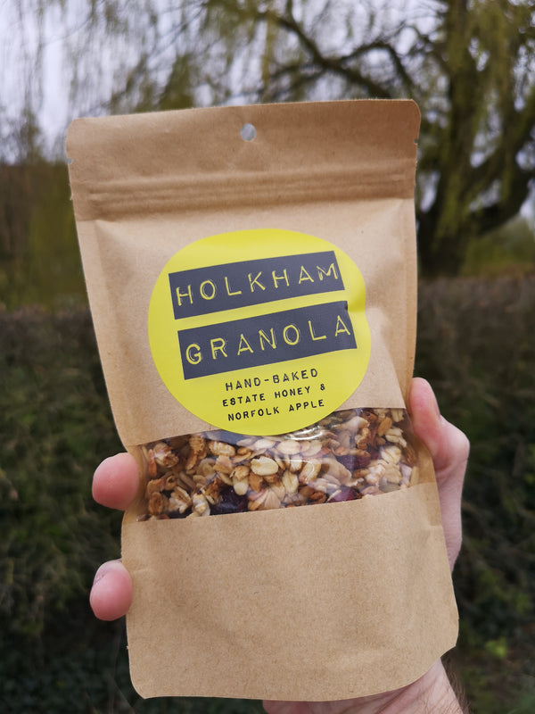Holkham Estate Granola (Honey & Apple) 200g