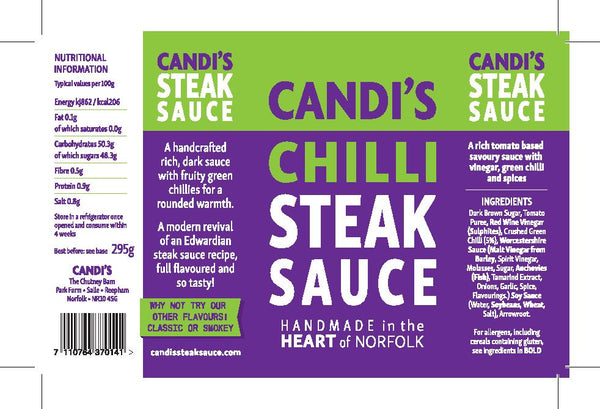 Candi's Chilli Steak Sauce