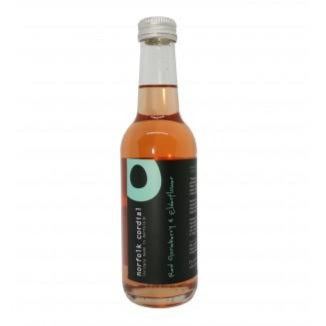 Red Gooseberry & Elderflower Norfolk Cordial - 250ml