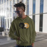 Bitcoin G.O.A.T. Unisex Heavy Hooded Sweatshirt - More colors