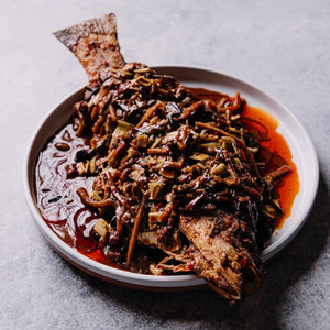 Spicy Sichuan Fried Barramundi (麻辣干烧鱼)