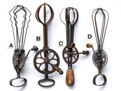 Antique Whisks
