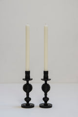 Pair Ebony Candlesticks