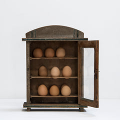 Edwardian Country House Egg Cabinet
