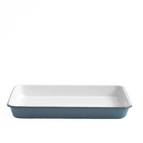 Grey Enamel Tray