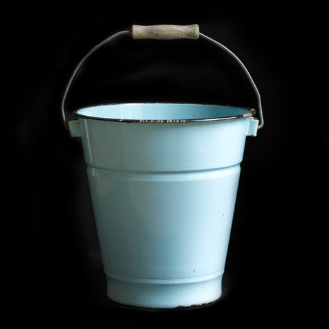 Small Enamel Bucket
