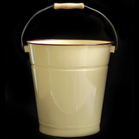 Large Enamel Bucket