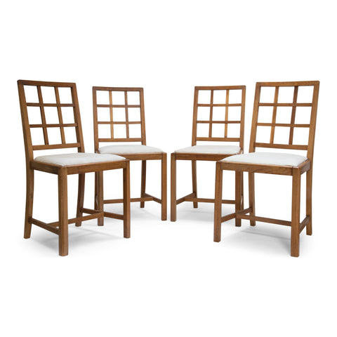 Set Four Cotswold School Chairs