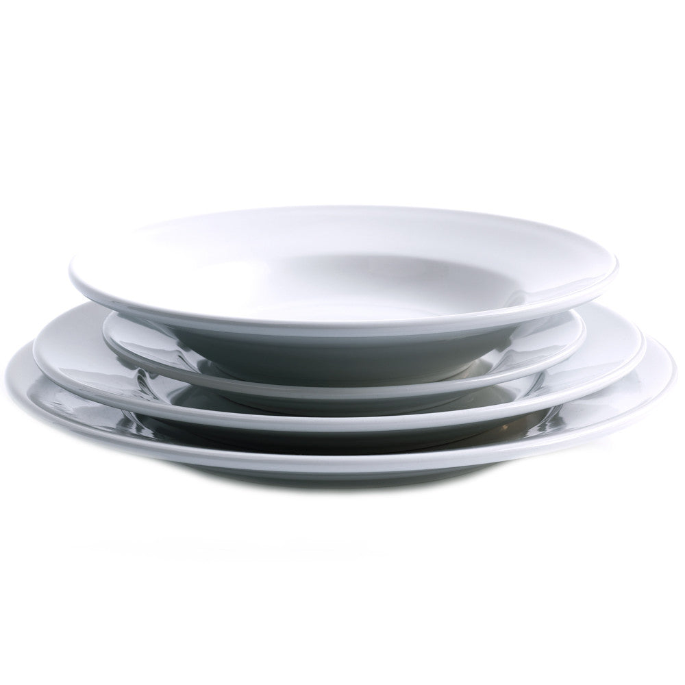 Hotelware plate stack