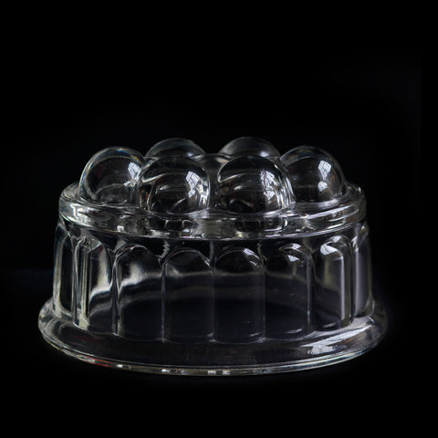 Glass Jelly Mould Large