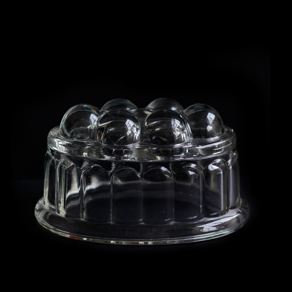 Glass Jelly Mould Small