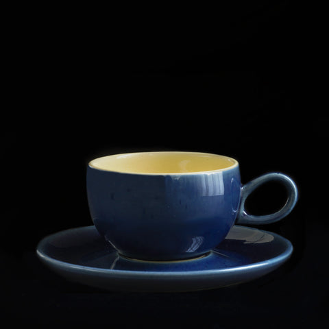 Tea Cup & Saucer Loop Handle