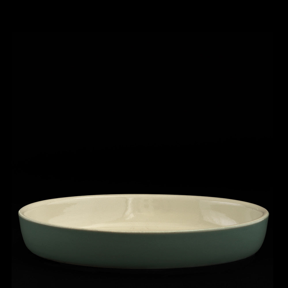 Oval serving dish 32cm