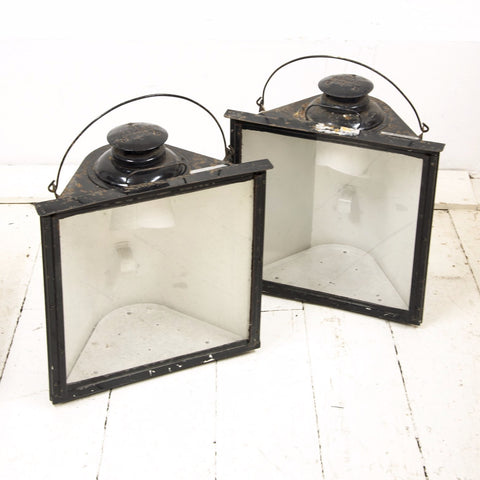 Pair Railway Lanterns