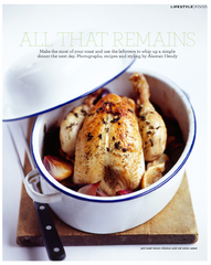 To launch your enamel roaster, here's Alastair Hendy's dead-easy pot-roast lemon chicken. All that remains - is that you give it a go