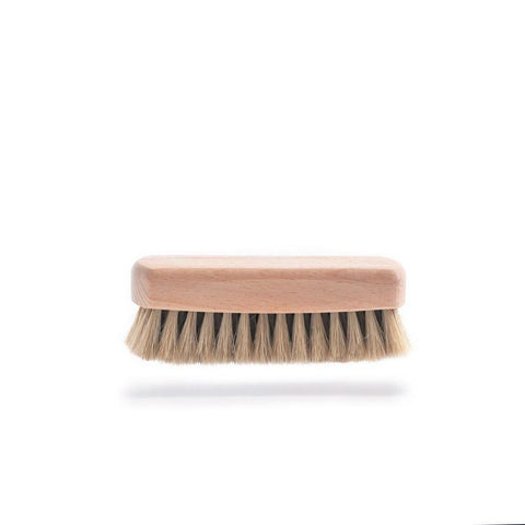 Small Shoe Brush, White