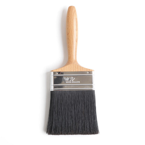 Beavertail Paint Brush 4""