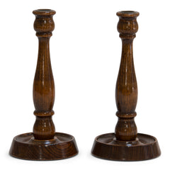 Pair 1920s Candlesticks