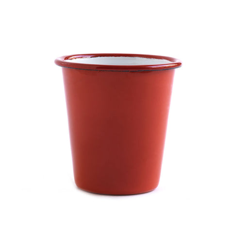 Red Enamel Beaker