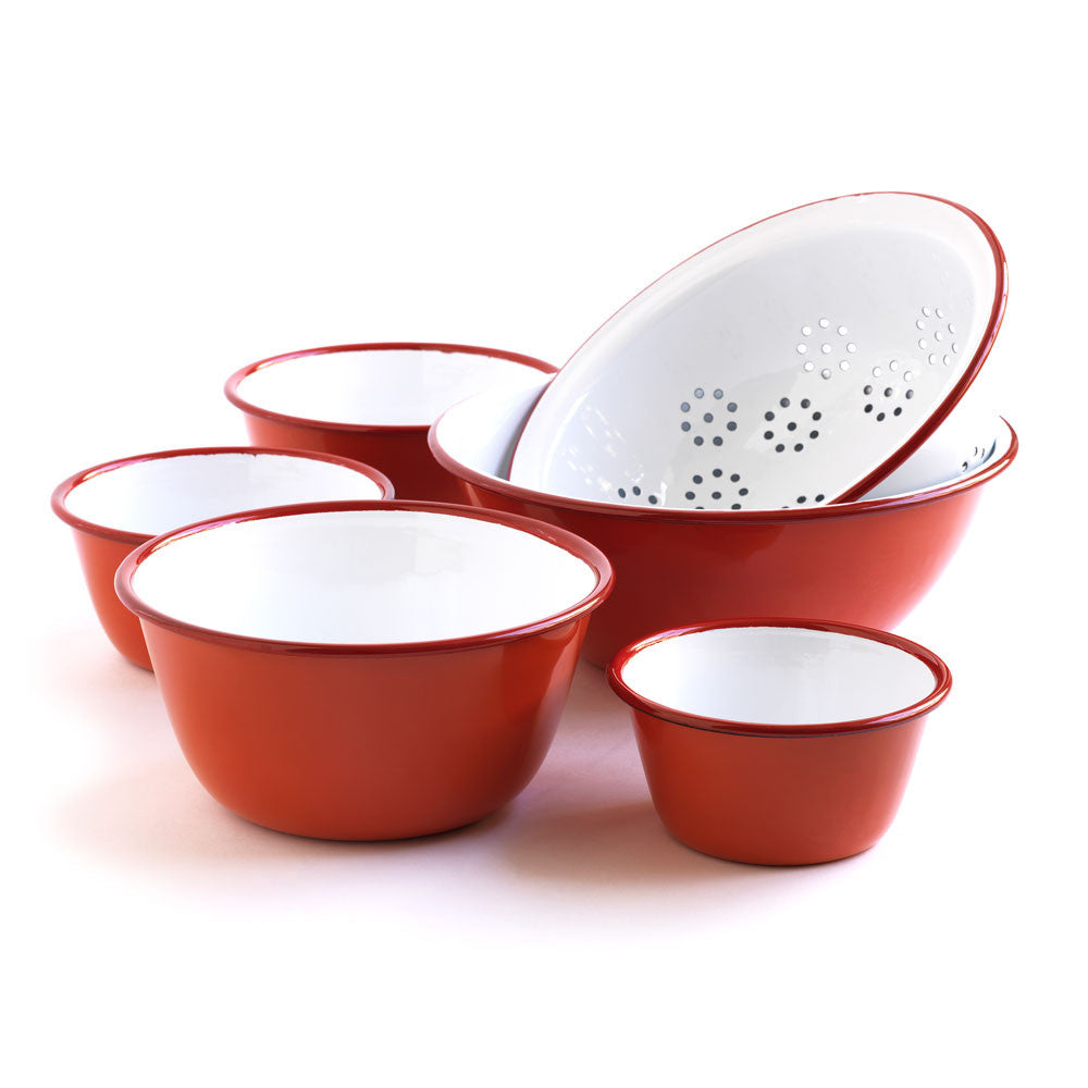 red-enamel-preparation-serving-set