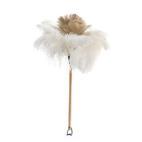Large White Feather Duster
