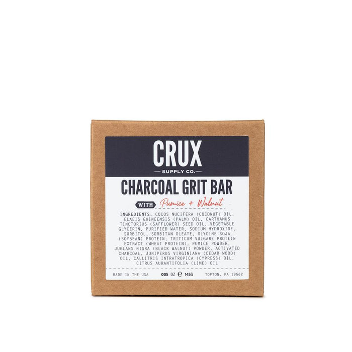 Crux Supply Co - Charcoal Grit Bar