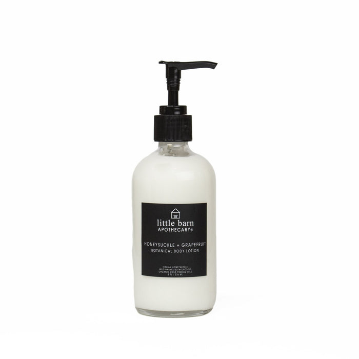 Little Barn Apothecary Honeysuckle + Grapefruit Body Lotion