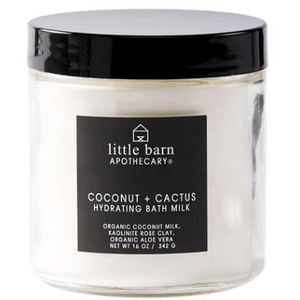 Little Barn Apothecary Coconut + Cactus Hydrating Bath Milk | Wren and Wild in Bend OR