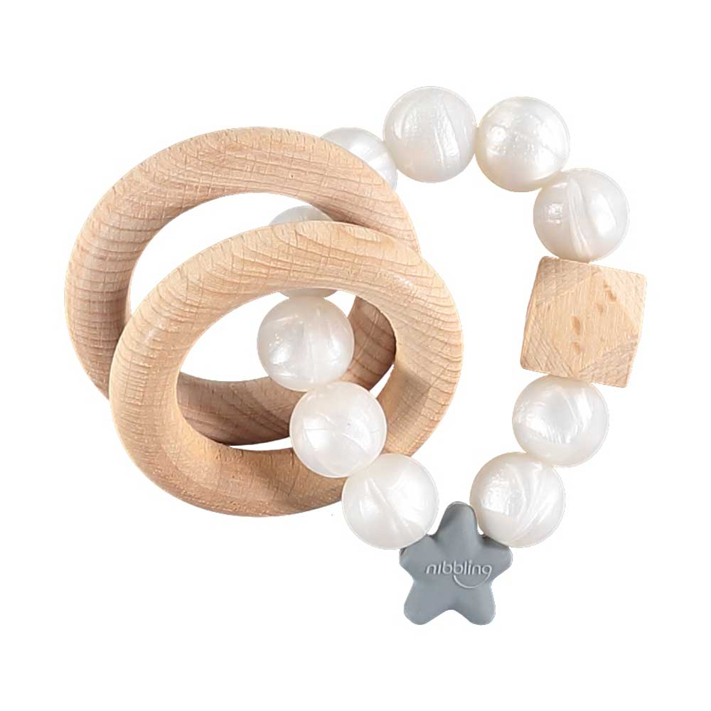 Pearl Nibbling Teether - Hallie & Harlow