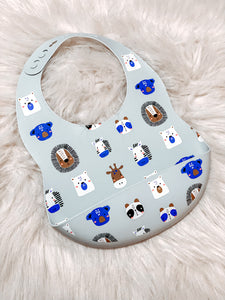 Animal Friends Bib