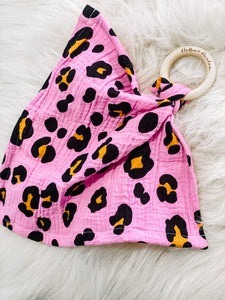 Pink & Orange Leopard Mini