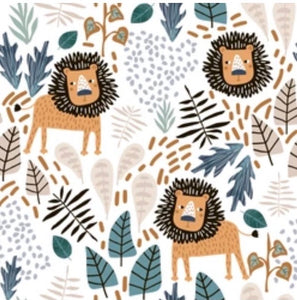 Lion Jungle Bedside Sheet
