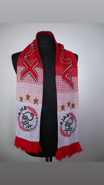 Ajax Football Scarf