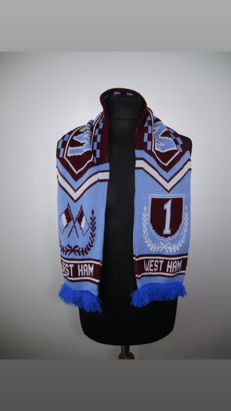 West Ham United Football Scarf
