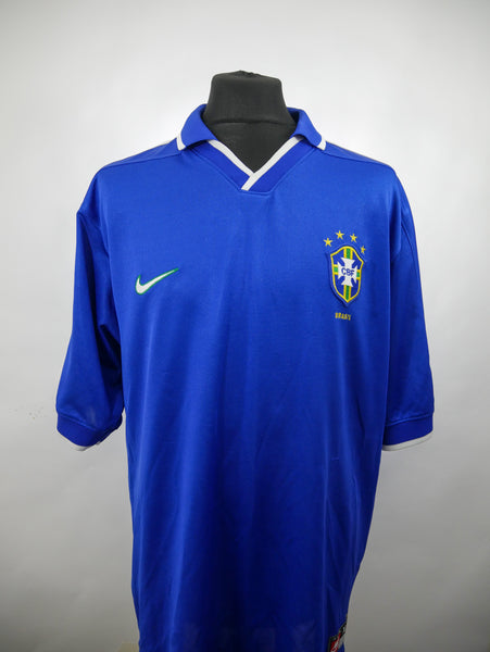Brazil 1997 Confederations Cup Away Jersey