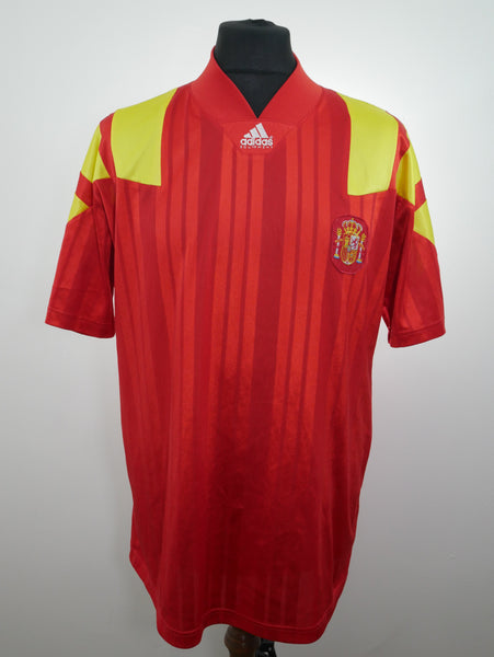 Spain 1992/93 Home Jersey