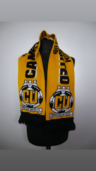 Cambridge United Football Scarf