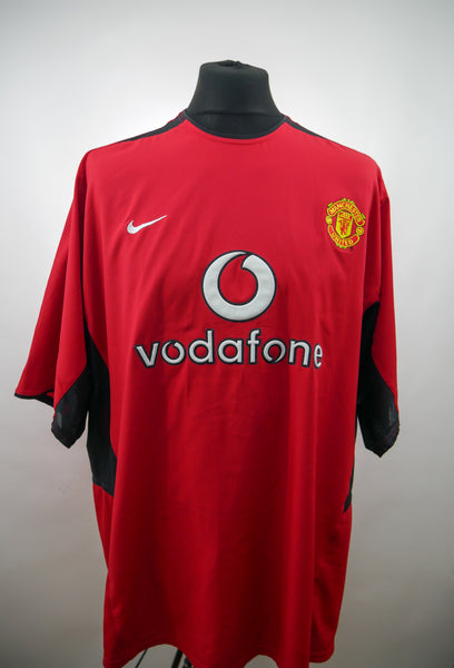 Manchester United 2002/04 Home Jersey