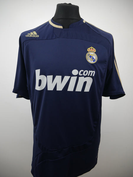 Real Madrid 2007/08 Away Jersey