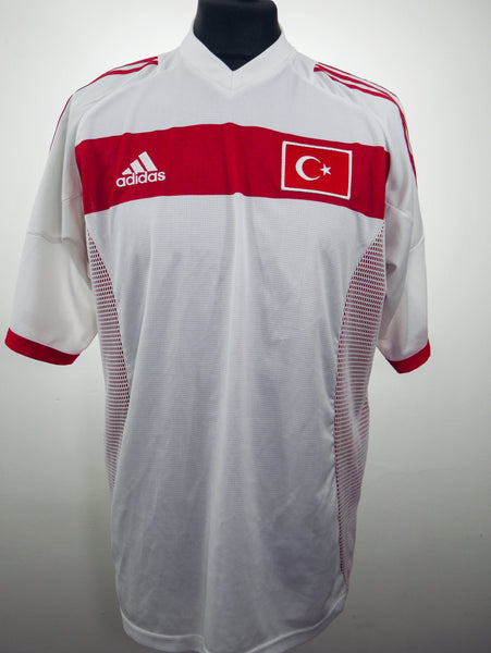Turkey 2002/04 Away Jersey