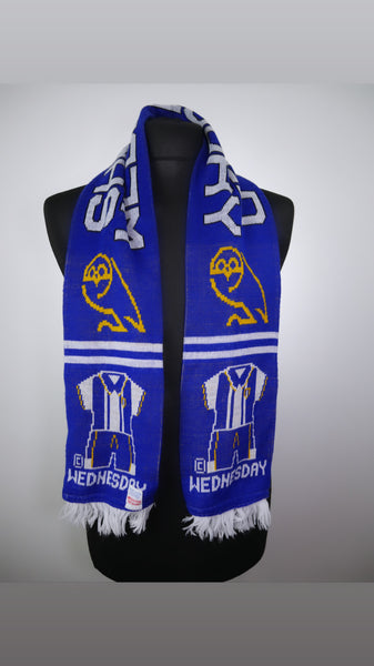 Sheffield Wednesday Football Scarf