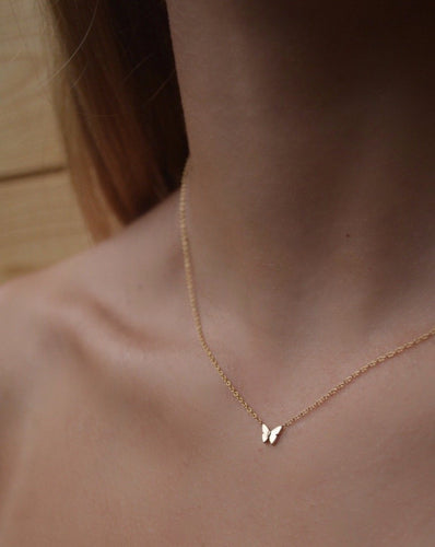 Risa Butterfly Necklace - ShopEmie